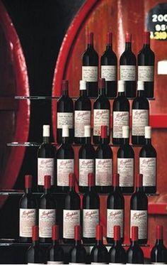 PENFOLDS' GRANGE WINE COMPILATION COMPRISING ALL 60 AVAILABLE VINTAGES