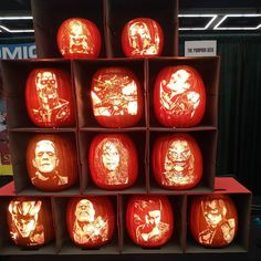 Pumpkin carving is one of the exciting things to do for Halloween. If most of the people are happy to succeed to carve spooky face, Nikon Small World, Jennifer Murphy, Urban Poetry, Rotten Fruit, Sea Sculpture, Faux Pumpkins, Halloween Scene, Renaissance Paintings, Pumpkin Crafts