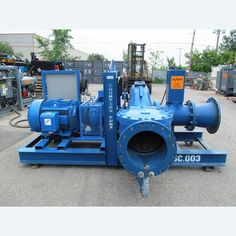Size: 16 in. x 16 in. Model: LL4124A. Electric end. 600V motor.     Please contact us for more information.  View more Trash Pumps
