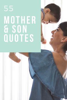 55 Mother & Son Quotes That Will Inspire You! Raising boys can be crazy, but it is also a great blessing. Here are some of our very favorite mother & son quotes both to inspire you and make you laugh! #mothersonquotes #quotes #boymom via @rookiemoms