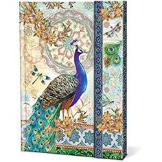 Amazon.com : Royal Peacocks Punch Studio Magnetic Closure Journal : Drawing Pads And Books : Office Products