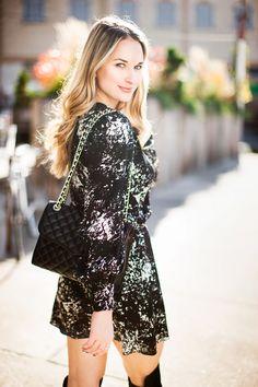 Parker Dress // Stuart Weitzman Shoes // Rebecca Minkoff bag cityluxestyle.com