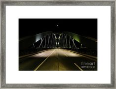Frankfurt Abstract Bridge Framed Print by Norma Brandsberg Steel Bridge, Germany Photography, Frame Shop, Hanging Wire, Frankfurt, Farm Life, Old Town, Clear Acrylic, Home Art