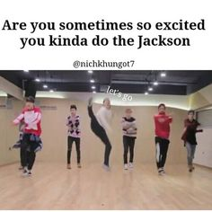 I don't always get excited but when I do....I do the Jackson