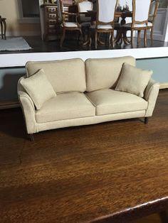 Dollhouse couch/sofa tutorial ~ The Kinfeld
