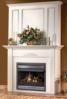 Napoleon Vent Free Fireplace - With a multitude of designer options and a room warming BTU's, it's no wonder the Gas Fireplace is one of the best selling vent free gas fireplaces in North America. Complete with Napoleon's PHAZER l Ventless Fireplace Insert, Ventless Gas Logs, Vent Free Gas Fireplace, Gas Fireplace Logs, Home Fireplace, Fireplace Inserts, Fireplace Surrounds, Fireplace Design, Fireplace Mantels
