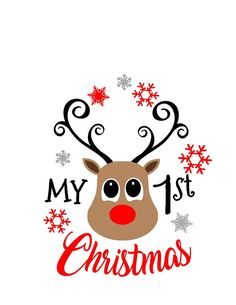 First christmas svg, christmas svg, reindeer svg, svg first christmas, svg christmas, svg reindeer, 1st christmas svg, svg 1st christmas,svg by SweetRaegans on Etsy