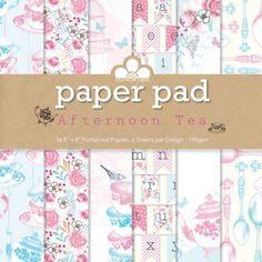 Afternoon Tea Paper Pad Image 1