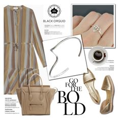 """Black Orquid"" by helenevlacho ❤ liked on Polyvore featuring Max&Co., Silvana and blackorquid"
