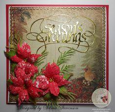 Selma's Stamping Corner and Floral Designs: Season's Greetings