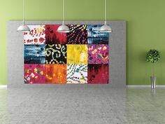 Dacă sunteți o fire cu un simț artistic bine dezvoltat ați putea opta pentru un covor avangardist, precum modelul Art Impression din colecția Tulipo Art. Curtains, Quilts, Shower, Blanket, Bed, Artist, Design, Rain Shower Heads, Blinds