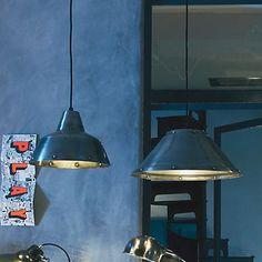 Fatto Suspension lumineuse en métal 27cm