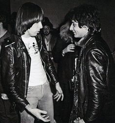 Johnny Thunders and Johnny Ramone
