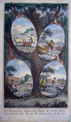 Les saisons Seasons Of The Year, Four Seasons, Illustrations, Delille, Rousseau, Images, Photography, Painting, Art
