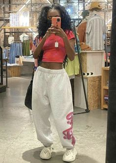 Chill Outfits, Cute Comfy Outfits, Swag Outfits, Casual Outfits, Fashion Outfits, Fashion Women, Fashion Tips, Baggy Clothes, Outfit Goals