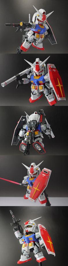 SD RX-78-2 ガンダム 徹底改修完成品