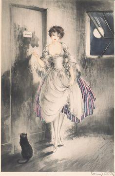 Louis Icart  'Pierrette'  1927