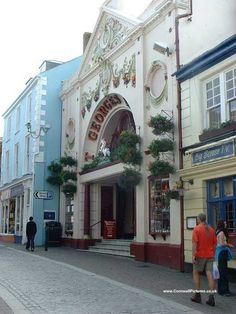 Entrance to St George's Shopping Arcade - Church Street, Falmouth