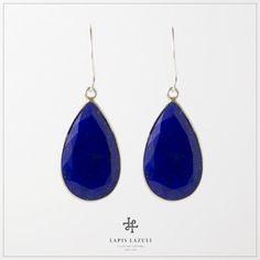 Lapis Lazuli Tear Drop Earring Teardrop Earrings, Gemstone Earrings, Gemstones, Silver, Jewelry, Jewlery, Gems, Jewerly, Ear Jewelry