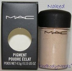 Website where you can buy samples of MAC makeup. Perfect for the pigments which everyone says never ever run out and they're super cheap and you can buy 8 samples for the price of one full size pigment. Naked shown here. $2.49