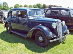 1938 Austin Light 12/4 New Ascot 1.5L Side Valve 4-cylinder engine. Image by Robert Knight