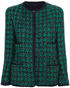 Chanel tweed jacket  | More here: http://mylusciouslife.com/shopping-where-to-buy-new-and-genuine-vintage-chanel-items-online/