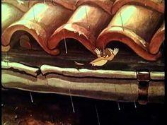 """Kopie von Armer Hansi 1943 Kurz-Animationsfilm Film Armer Hansi (1943) /  Produktion: Deutschen Zeichenfilm GmbH / Regie: Gerhard Fieber, Frank Leberecht / künstlerisch wertvoll Überlieferung: Bundesarchiv-Filmarchiv, Berlin; Stiftung Deutsche Kinemathek, Berlin  Handlung   """"Vom Lockruf einer Meisin verzaubert, befreit sich Hansi, der einsame kleine Kanarienhahn, aus der sorglosen Enge seines Bauers, um es in der bunten, fremden Natur den wilden Vögeln gleichzutun. Eine weite Skala der…"""