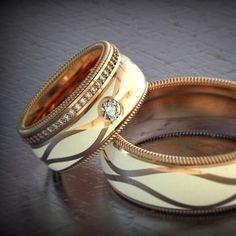#gyűrű #ring #loveyou #karikagyűrű #esküvő #wedding #brilliant #egyediékszer #masterpiece #rosegoldjewelry  www.matheekszer.hu Bangles, Bracelets, Photos, Instagram, Jewelry, Fashion, Moda, Pictures, Jewlery