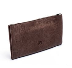 Coffee Brown Leather Wallet / Checkbook Wallet / Women Purse / Unisex Wallet / Card Slot Wallet / Coins Wallet / Compartments Wallet - Efika