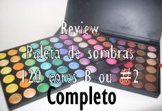 Review completo Paleta 120 B | Jess Ferreira