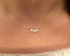 Excited to share this item from my shop: Diamond Bezel Necklace / Gold Diamond Necklace / Bridal Diamond Necklace / Floating Diamond / Dainty Diamond Necklace / Bridal 14k Gold Necklace, Diamond Solitaire Necklace, Dainty Necklace, Simple Necklace, Diamond Necklaces, Bridal Necklace, Diamond Pendant Necklace, Gold Wedding Necklace, Silver Earrings