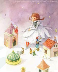 The Wizard of Oz / © Kim Minji - illustrator