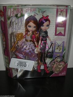 ***waaaannnnt*** EVER AFTER HIGH Dolls HOLLY & POPPY O'HAIR ***IN-STOCK***