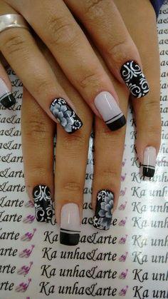 Hair Hacks, Cute Nails, Hair And Nails, Nail Art Designs, Nailart, Nail Polish, Nail Polish Racks, Nice Nails, Nail Art