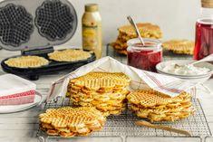 Stor vaffelrøre til dugnad - Oppskrift fra Melange Dairy, Cheese, Baking, Breakfast, Food, Meal, Patisserie, Backen, Eten