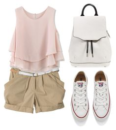 """""""Summer outfit"""" by liza-ionova ❤ liked on Polyvore featuring Chicwish, Converse and rag & bone"""