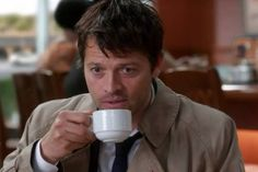 """Castiel from 8X21 (""""The Great Escapist"""")"""