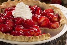 Prepared pie crusts make it a snap to whip up homemade pies. This Easy Strawberry Pie recipe features fresh strawberries, which are sure to make your gang cheer!