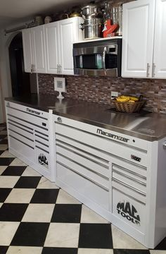 Tool Box Kitchen This Would Be Awesome In Rob S Garage