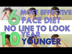 6 MOST EFFECTIVE FACE DIET NO-LINE TO LOOK 10 YEAR YOUNGER 6 วิธีลดริ้วรอยบนใบหน้า อ่อนกว่าวัย - YouTube T Line, Face Exercises, Face Yoga, Too Faced, Sport, Beauty Hacks, Beauty Tips, Beauty Skin, 10 Years