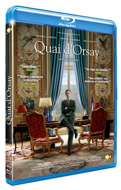 Aujourd'hui en vidéo: QUAI D'ORSAY, le nouveau BERTRAND TAVERNIER! 2 BLU-RAY ET 3 DVD A GAGNER sur le blog!