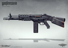 Wolfenstein: The New Order - AR 60 by torvenius on DeviantArt