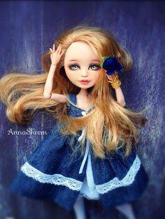 ООАК Эшлин Ever After High / Авторские куклы (ООАК) / Шопик. Продать купить куклу / Бэйбики. Куклы фото. Одежда для кукол