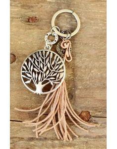 Μπρελόκ - Γούρι Tree of Life & Tassel Personalized Items