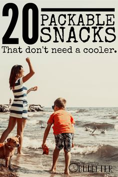 20 Packable Snacks that Don't Need a Cooler sponsored by Mott's. This is outstanding! I'm always looking for ideas to keep in the car. I spend a small fortune on eating out because I don;t have the time to eat ahead. Throw a few bags of these in the car and a case of water and boom. There is it. Snacks for everyone and I save a small fortune.