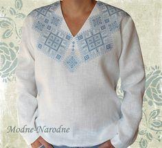 Сорочка с ручной вышивкой святкова-2 - Modne-Narodne,