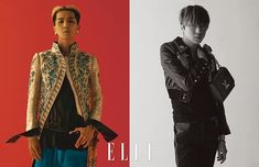 Song Minho and Kang Seungyoon (from WINNER) for ELLE KOREA Louis Vuitton 2018  spring