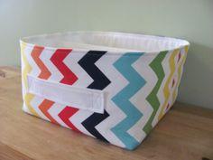 NEW Fabric Storage Basket  Fabric organizer by hipbabyboutique, $48.00