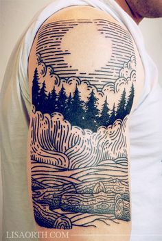 mountain forest tattoos - Google Search