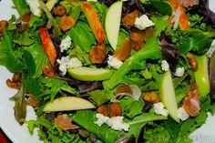 Apple Gorgonzola Salad   The Cooking Mom